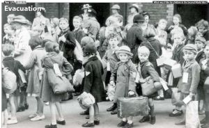 evacuation of English children
