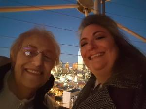 Mom & K top of Reunion Tower